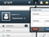 Admin Template - Grape