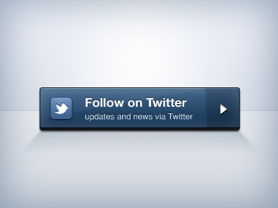 Twitter Button for ThemeForest-Profile web blue button envato themeforest twitter 3d ui modern