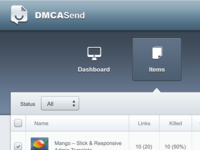 DMCASend: Basic Layout