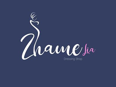 Zhame (Lia) Logo Design logo logo designer logotype branding logo design