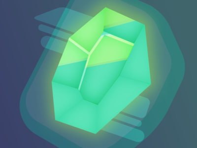 The gem vector fantasy illustration