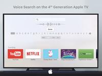 Voice Search   Apple Tv