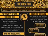 The rock run presentation