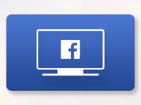 Facebook Video - Apple TV App Icon Redesign