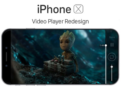 iPhone X - Video Player Redesign iphone 8 10th anniversary 2017 apple iphone x