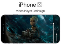 iPhone X - Video Player Redesign