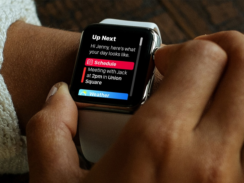 Up Next - watchOS 4.0 - Apple Watch apple watch up next apple ios 11 watchos