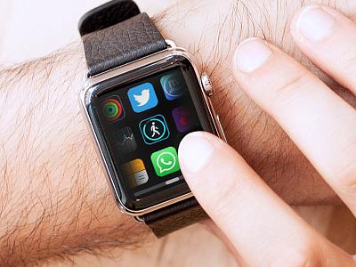 App Layout - watchOS 4.0 - Apple Watch apple watch up next apple ios 11 watchos