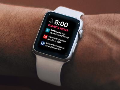 Intelligent Watch Faces - watchOS 4.0 - Apple Watch apple watch up next apple ios 11 watchos