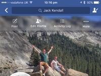 Facebook profile  2x