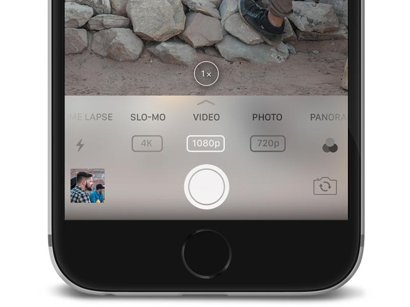 iOS 11 Camera App Redesign camera ios 11 iphone apple