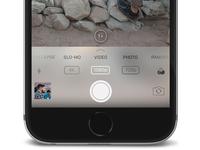 iOS 11 Camera App Redesign