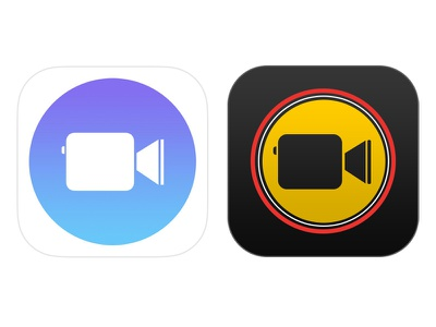Apple Clips - App Icon Redesign ios redesign icon app apple clips iphone apple