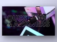 Q&A Deck Slide