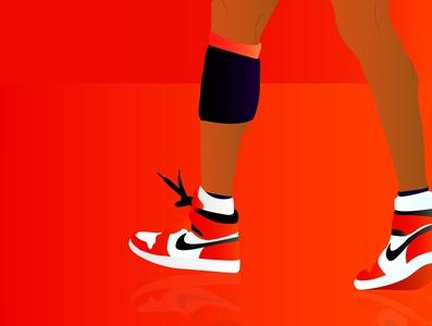 JUMPMAN adobe illustrator graphic design nike jordans jordans nike athlete sports nba basketball jumpman minimalism branding graphic art illustrator flat typography minimal illustration vector