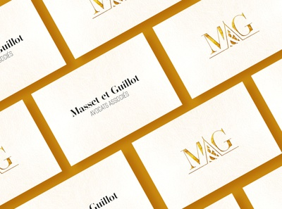 Masset & Guillot - Law firm graphicdesign