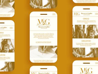 MAsset & Guillot graphicdesign