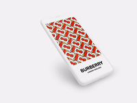 Uninvited redesign: Burberry