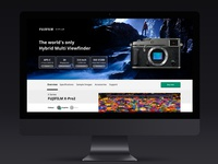 Uninvited redesign: FUJIFILM X-Pro2 - Product Page