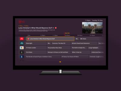 Virgin Media EPG uninvited design refresh virgin media epg interface tivo ui tv