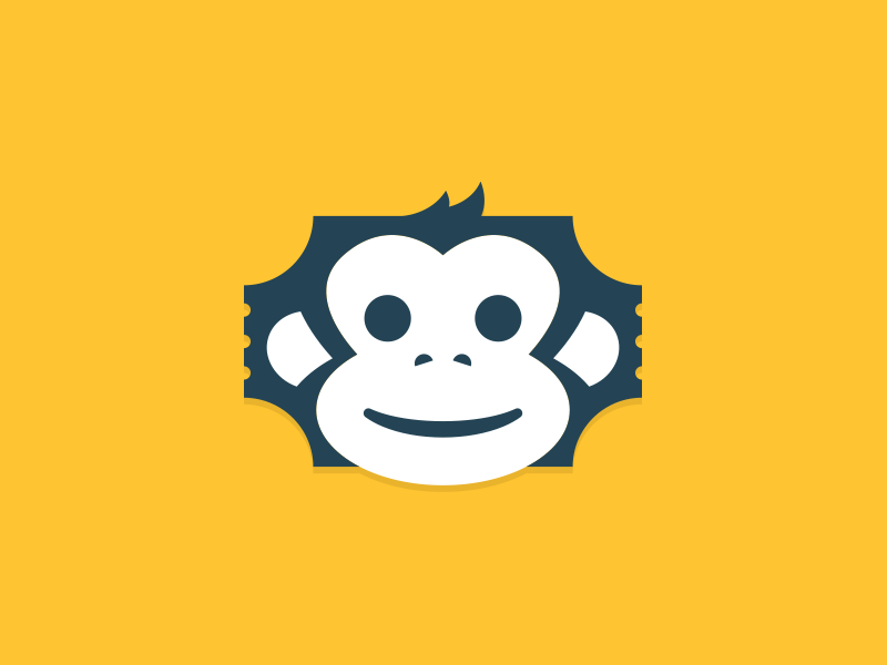TicketApe Logo pensacola brand logo ape ticket logomark