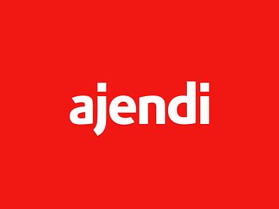 Ajendi Logotype pensacola logotype logo identity scheduling calendar brand
