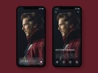 Lock Screen Pictorial Design