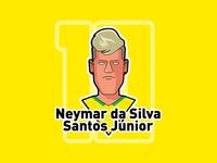 Neymar Da Silva Santos J Nior