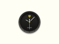 Clock Desktop Icon  (Ferrari)