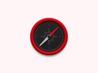 Compass Desktop Icon  (Ferrari)