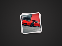 Album Desktop Icon (Ferrari)