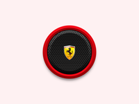 Music Desktop Icon (Ferrari)