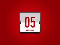 Calendar Desktop Icon (Ferrari )