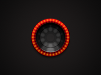 Headlight Desktop Icon (Ferrari)