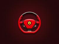 Driving Mode Desktop Icon (Ferrari)