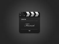 Video Desktop Icon (Ferrari)