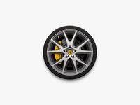 Wheel Hub Desktop Icon (Ferrari)