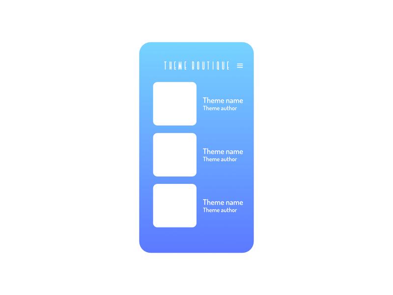 Android themes app concept app ux ui concept design concept