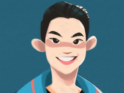 Darren Espanto vector character design concept art illustration illustrator conceptart characterdesign