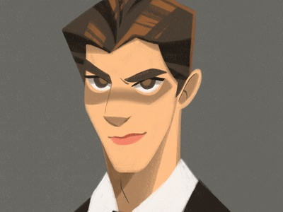 Brandon Routh design vector illustrator illustration concept art conceptart character design characterdesign