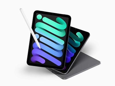 Free iPad Mini Mockup sketch figma mini ipad 2021 apple free psd download mockup lstore 3d