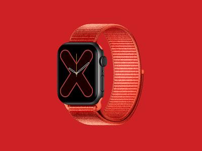 Apple Watch Series 5 strap nylon c4d 3d apple watch apple