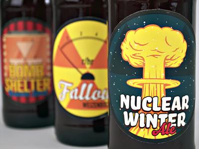 Rebar Beer beer packaging labels