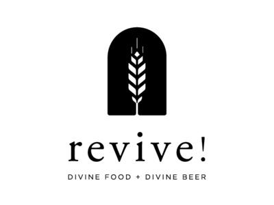 revive! Logo grain barley brewing brewers maryland food event logo beer