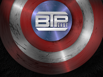 Captain America Shield - BTP Cast 3d cinema 4d america captain comic hero render red white blue