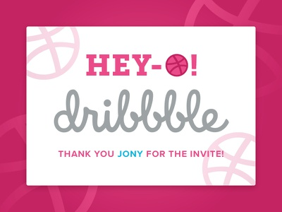 First Shot invite first shot hello dribbble