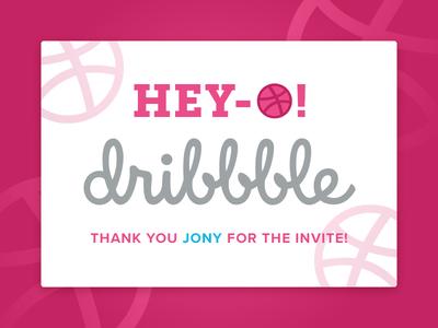 First Shot invite first shot hello dribbble