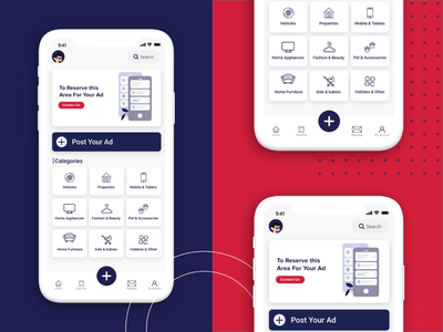 E3lanko - Online Marketplace marketplace product product design ux ui ui  ux user home screen app user experience userinterface uxdesign ux uiux ui