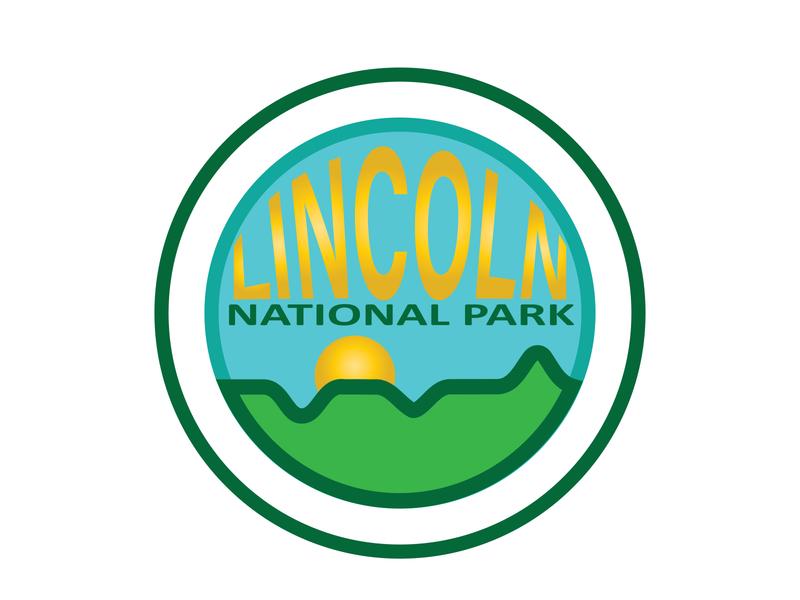 Daily Logo Challenge: Day 20 | Lincoln National Park greenery hills national park lincoln sun green air blue logo design branding illustration daily logo design dailylogo daily logo dailylogochallenge
