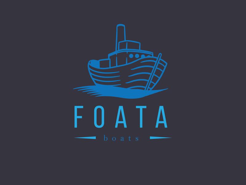 Daily Logo Challenge: Day 23 | Foata boat logo foata boating boat air blue design logo branding illustration daily logo design daily logo dailylogo dailylogochallenge